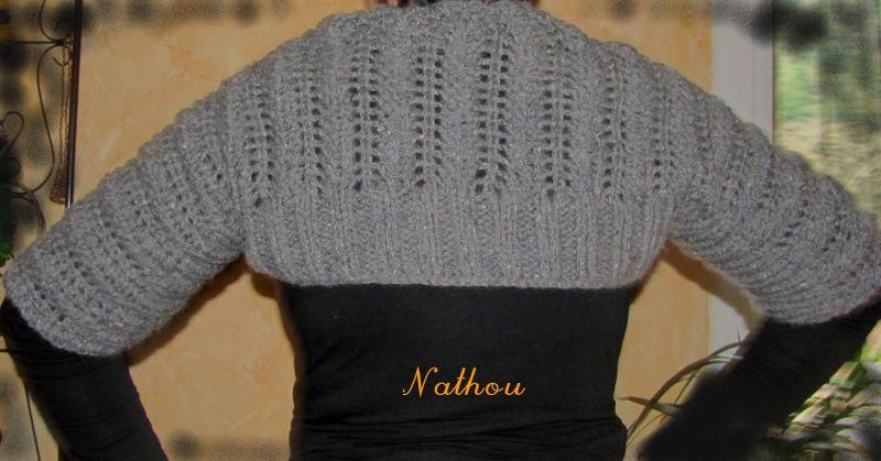 comment tricoter un bolero en laine